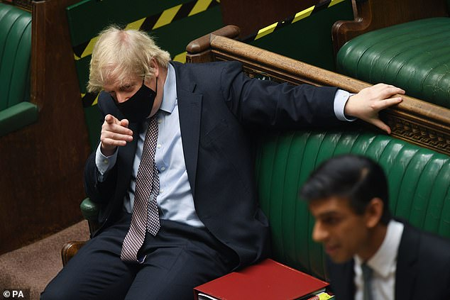 Mr Sunak – the favourite to succeed Mr Johnson when he eventually leaves Downing Street – fears that his ambitions will be damaged if he is bounced by No 10 into raising taxes
