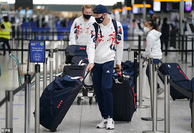 A huge shipment has been sent out to Tokyo for Team GB athletes ahead of the Olympic Games