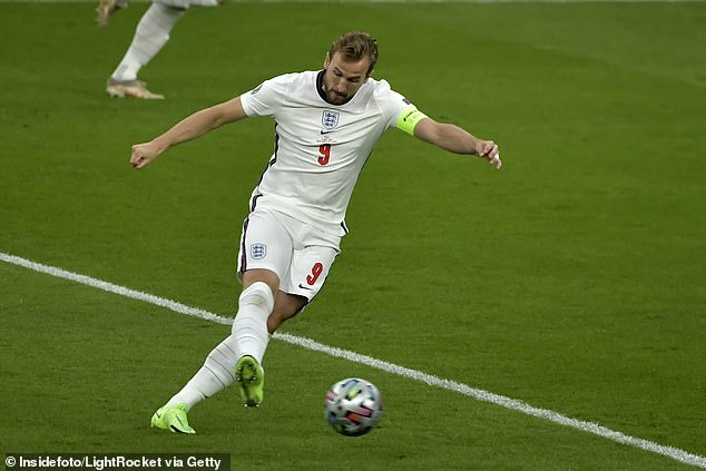 Marion McGilvaryadmits she can't muster up any enthusiasm for another competition. Pictured: Harry Kane at Euro 2020 football match