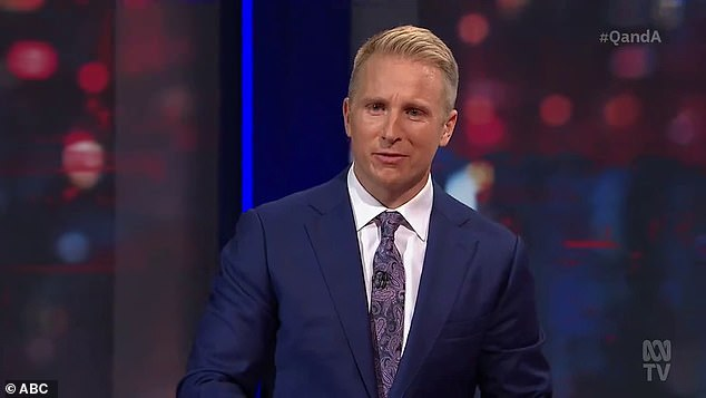 Out: It comes after news that Macdonald has left the ABC, less than 18 months after he took over as Q&A host — and nearly a month since he last opened the show with flagging ratings