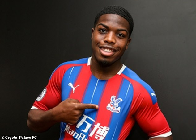 Injuries still prevented Nathan Ferguson from making his first appearances at Palace