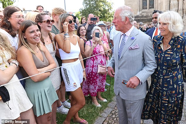 it's so refreshing to see Charles and Camilla urging Brits to follow them back towards normality