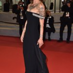 Asia Argento at Cannes Film Festival the same day documentary about Anthony Bourdain is released 💥👩💥