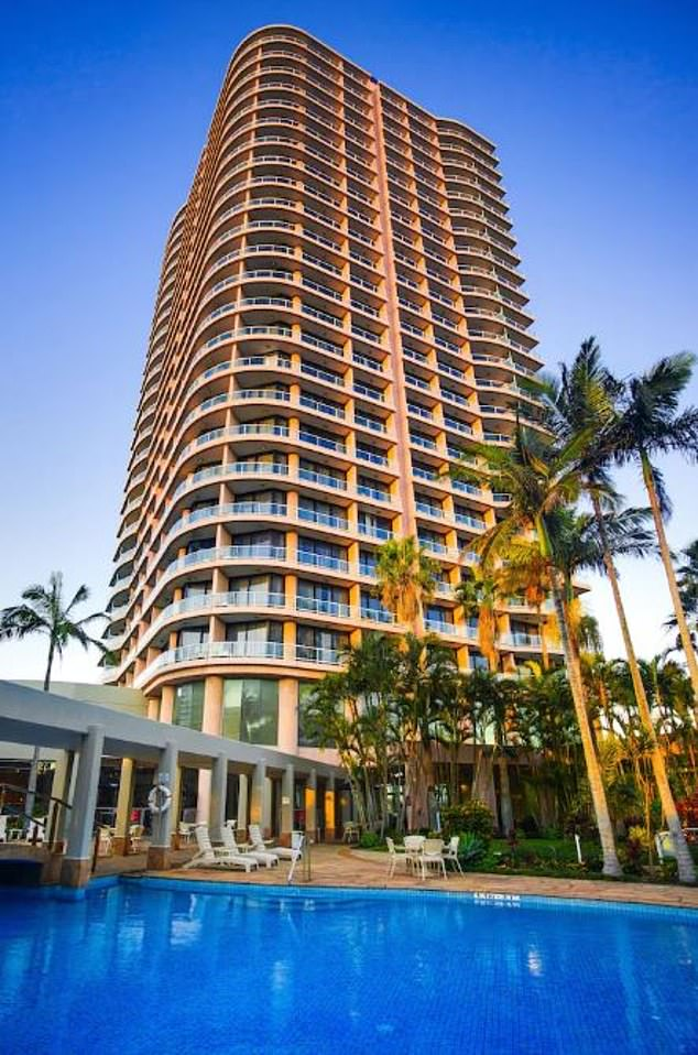 The sneaky quarantine breach occurred at the Crown Plaza Hotel on the Gold Coast