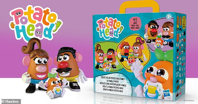 In February, Hasbro announced the Potato Head brand would feature a gender-neutral version