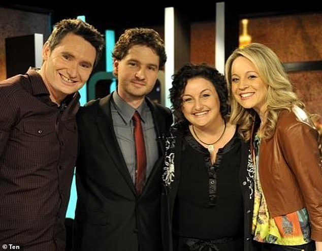 Back then:The Project reached the milestone of 12 years on air this week. And to celebrate, host Carrie Bickmore shared a throwback photo of the original cast in their late 2000s finery. In the image, Carrie stood beside former panelist Dave Hughes and a young Charlie Pickering, as well as MasterChef star Julie Goodwin. All pictured