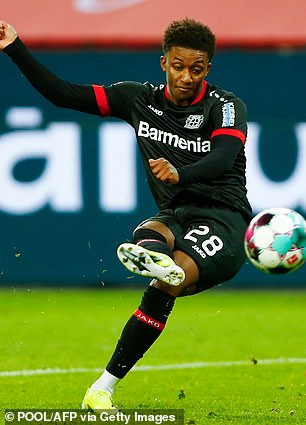 Bayer Leverkusen winger Damarai Gray is moving close to joining Everton this summer