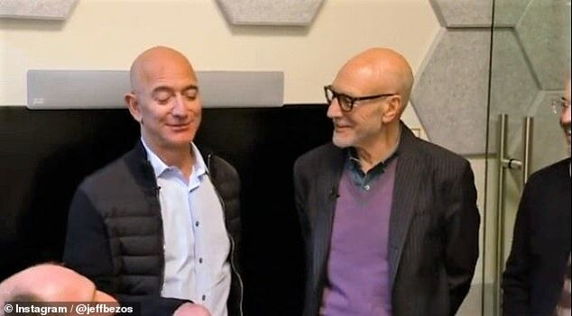 Atlantic staff writer Franklin Foer says that Bezos ambitions conjure a more nefarious aspect of the Star Trek universe. 'The man who styles himself as the heroic Jean-Luc Picard has thus built a business that better resembles Picard's archenemy, the Borg'