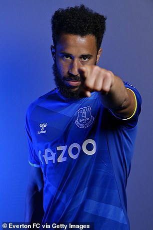Townsend is relishing his new chapter with Everton after leaving Palace