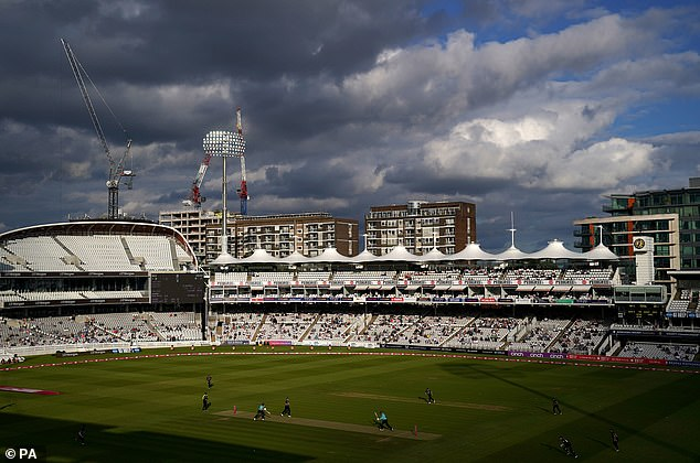 I have sat at Lord's and watched Middlesex play in front of families for T20 Blast games