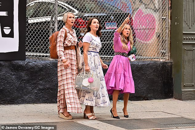 $10M total each! The two-time Emmy winner and her two onscreen BFFs are earning '$1M per episode' to produce and reprise their SATC roles in the limited series