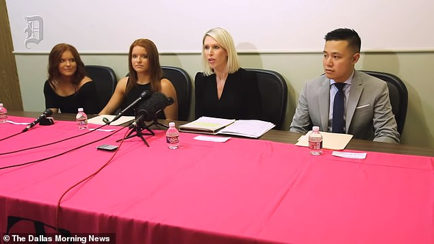 The twins and their attorneys held a press conference on Monday to announce their lawsuit