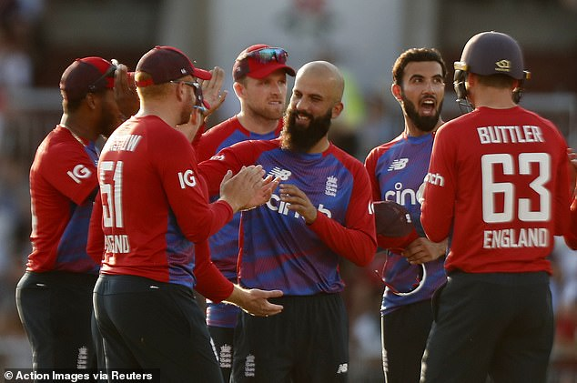 Moeen Ali was the only other England bowler to take a wicket in the deciding T20 match