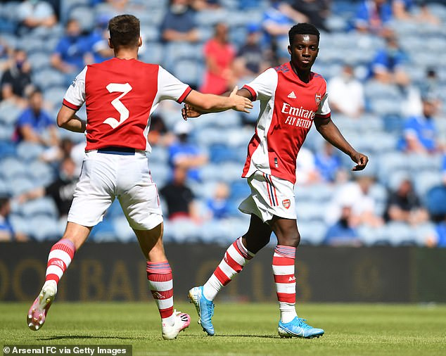 Arsenal were lost 2-1 to Hibernian and were held to a 2-2 draw by Rangers in Scotland last week
