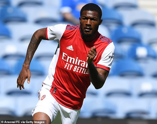 Ainsley Maitland-Niles is also available for transfer and was targeted by Leicester last season