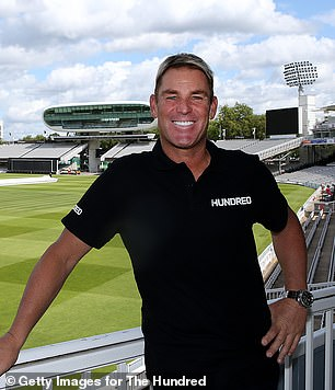 Warne will coach in The Hundred