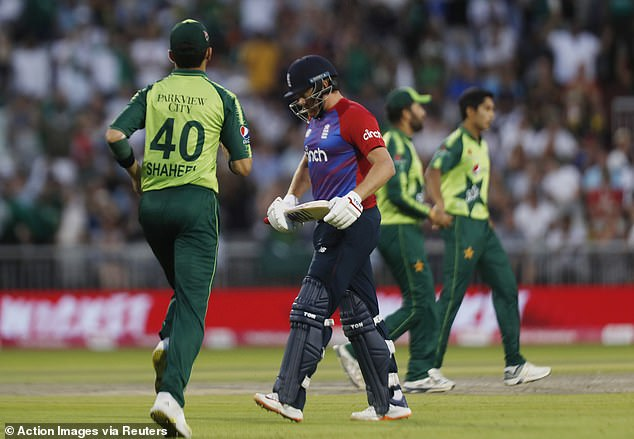 Jonny Bairstow then departed cheaply after Sohaib Maqsood held on to a catch