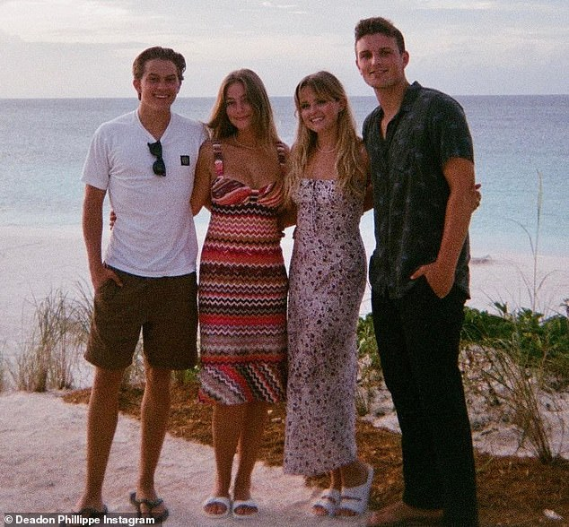 The nest generation: Ava and Deacon enjoyed a tropical vacation with their partners this month. And the group shared some snapshots from the trip to social media