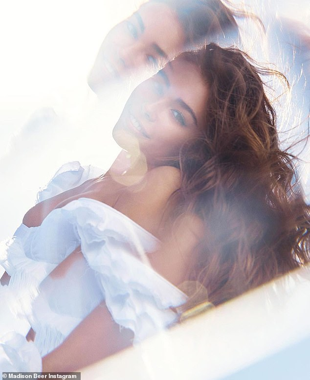 Heaven sent: Madison Beer helped Victoria's Secret tease their 'relatable' new rebrand in a dreamy new fragrance ad out on Tuesday