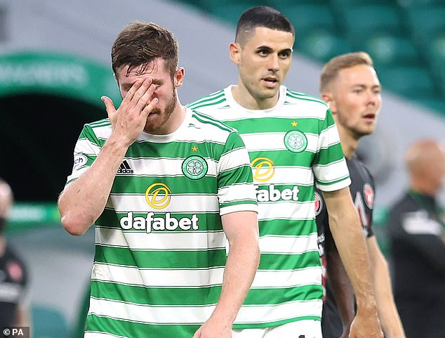 The Scottish side have it all to do in the second leg after conceding an away goal