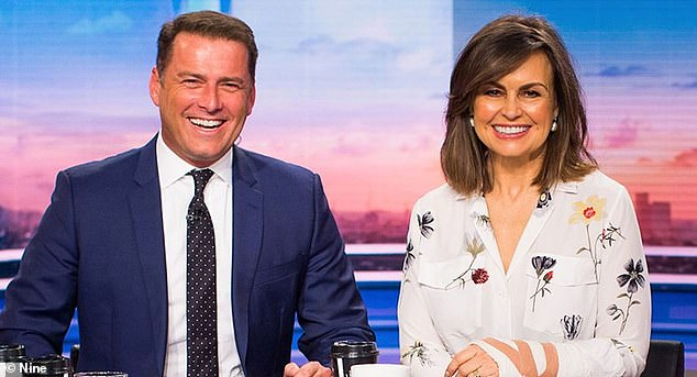 Remember that? Before co-hosting with Ally, Karl was also in the chair alongside Lisa Wilkinson. The pair co-hosted the show together for ten years