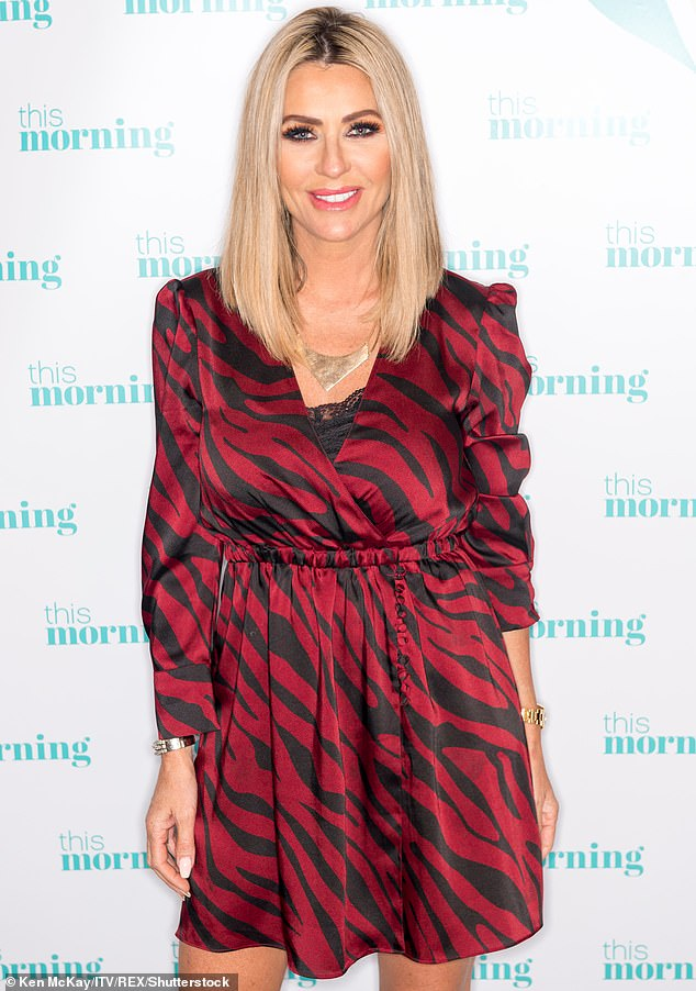 Entwistle is thought to have met Gemma Collins at a charity ball hosted by Real Housewives of Cheshire star Dawn Ward (pictured) in 2015 and they exchanged numbers