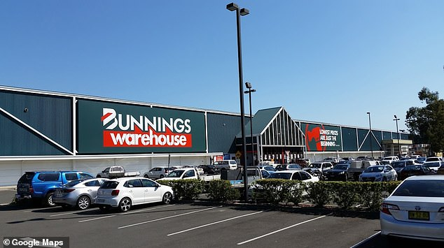 The Bunnings in Penrith has been put on alert for anyone who visited the store on Sunday, July 18 between 3:35pm to 3:45pm and 5:15pm to 5:35pm
