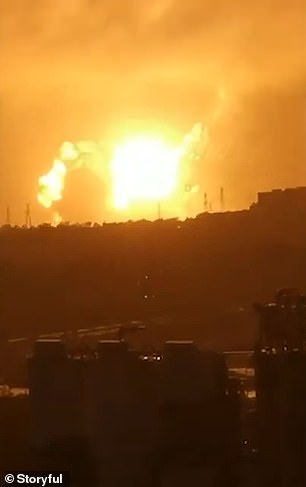 Explosion at metal factory