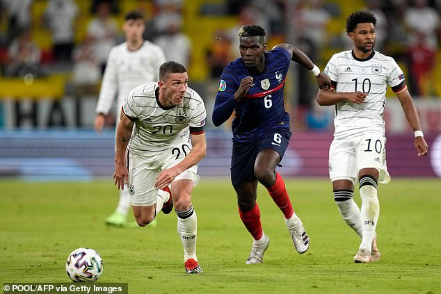 Pogba had a strong Euro 2020 with France but they lost in the last-16 to Switzerland
