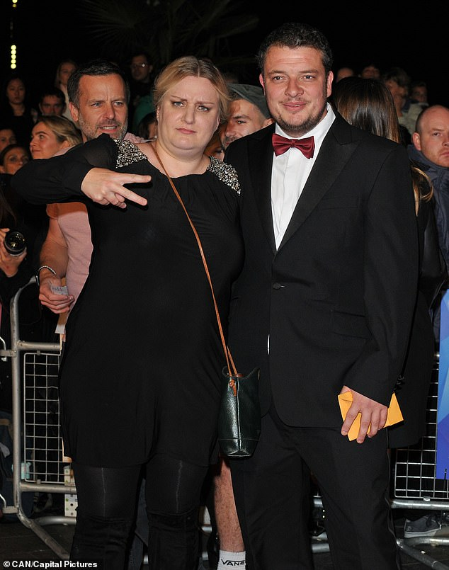 Breakup: The couple, who married in September 2019, are both devoted parents to their children, daughter Pip, two, and son Jack, nine months (pictured together in October 2018)