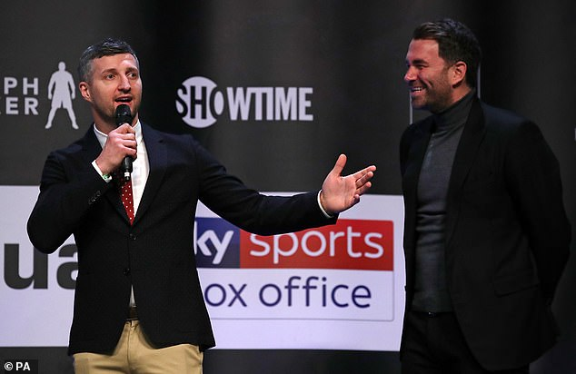 Carl Froch was unimpressed by Usyk against Chisora and believes he will compete against AJ