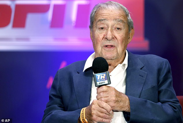 Fury co-promoter Bob Arum has also declined to rule out Usyk beating Joshua in September