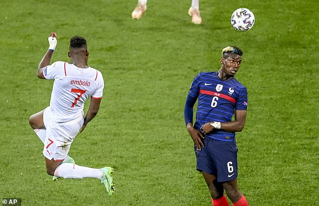 Pogba was influential for France at the Euros and United will hope that good form continues