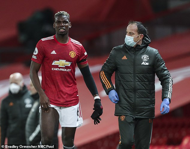 Pogba was on top form for United last season until he suffered a hamstring injury in February