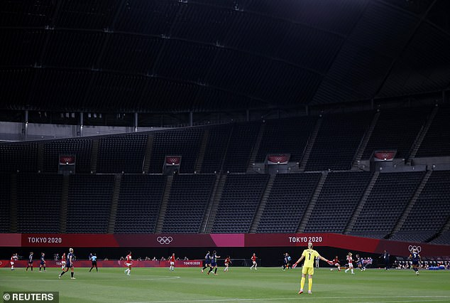 The matches will be played in front of empty stadiums due to the ongoing Covid situation in Japan