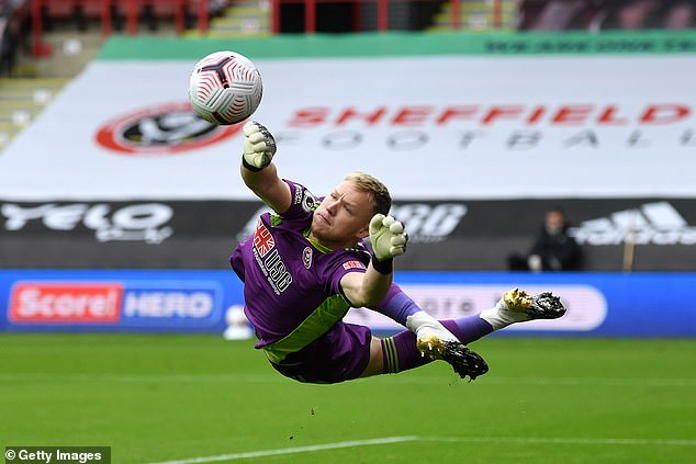 Arsenal are reportedly preparing a £30m move for Sheffield United keeper Aaron Ramsdale