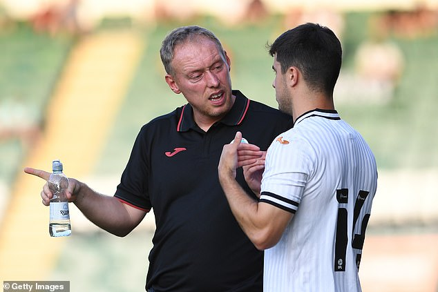 Cooper took charge of Tuesday's pre-season friendly win over Plymouth before coming to a mutual agreement with the club to step down