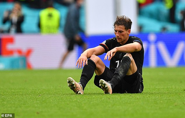 Goretzka laments Germany's Euro 2020 exit to England at the last-16 stage last month