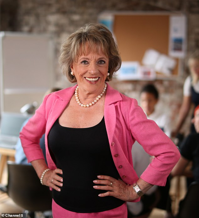 Advice:TV legend Esther Rantzen, 81, didn't agree with Charlie's stance, and warned her that she would forever be labelled as 'the braless one'