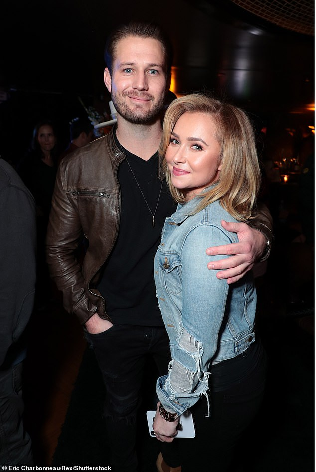 The latest:Hayden Panettiere reunited with her 'abusive' ex Brian Hickerson at an LA area bar over the weekend; pictured together December 1, 2018