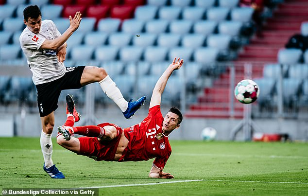 The 32-year-old has been in sublime form and still has two years on his current Bayern contract