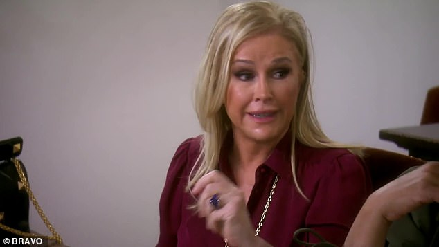 Weighing in:Kathy Hilton attempts an olive branch by offering that 'everybody's got a skeleton in their closet'