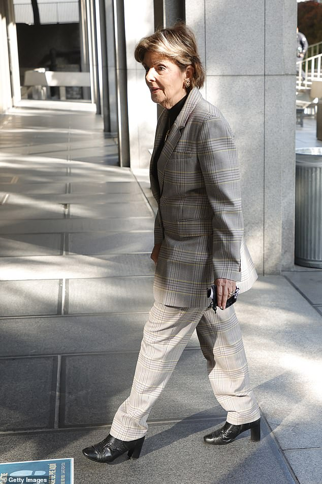 Outside the courtroom, renowned women's rights lawyer Gloria Allred - who represents one of Weinstein's New York victims and two of his alleged victims in LA - told DailyMail.com: 'I am happy that this day has come and I'm looking for a fair trial'