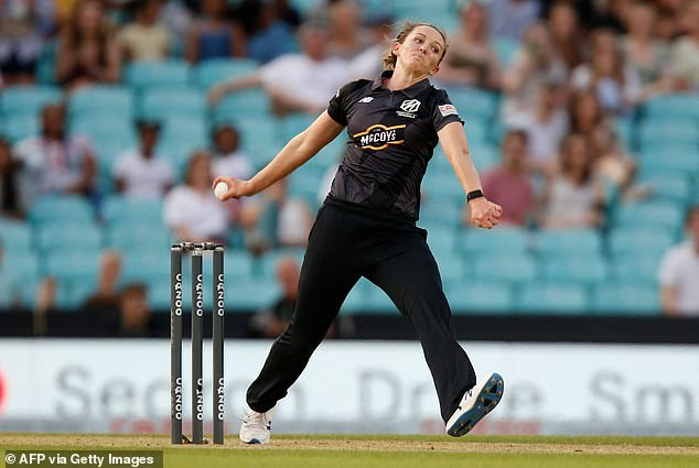 Originals captain Kate Cross hit back-to-back early wickets to get the Invincibles' top order out