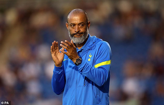 Nuno Espirito Santo would have been very pleased with a number of aspects from the game