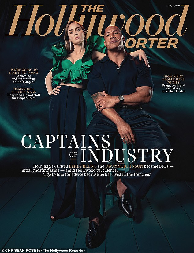 The 49-year-old action star told THR Magazine: 'I think everyone had a laugh at that. And I'll leave it at that.And that I've wished them well. I wish them well on Fast 9. And I wish them the best of luck on Fast 10 and Fast 11 and the rest of the Fast & Furious movies they do that will be without me'