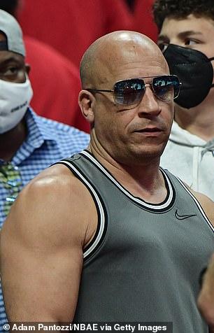 Vin Diesel pictured on June 30