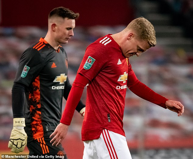 Van de Beek made just four starts in the Premier League last season and 15 in all competitions