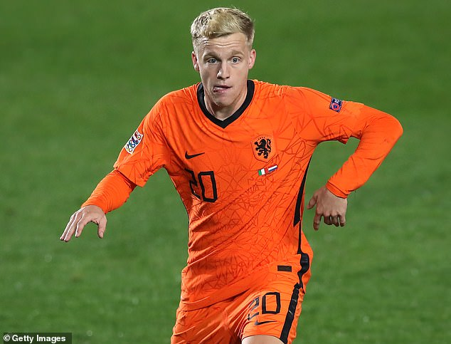 The Holland star is working his way back to fitness after missing Euro 2020 through injury