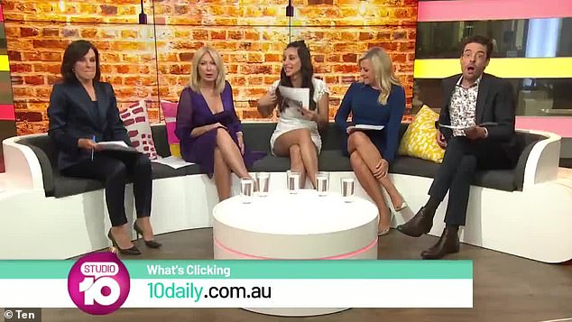 Focused: Kerri-Anne bid farewell to Studio 10 in September of last year, after being ruthlessly kicked out of the program
